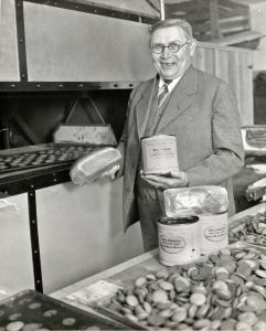 Bill Baker in bakeryCOP