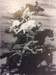 Gymkhana! Speed, beautiful horses, superb horsemanship.